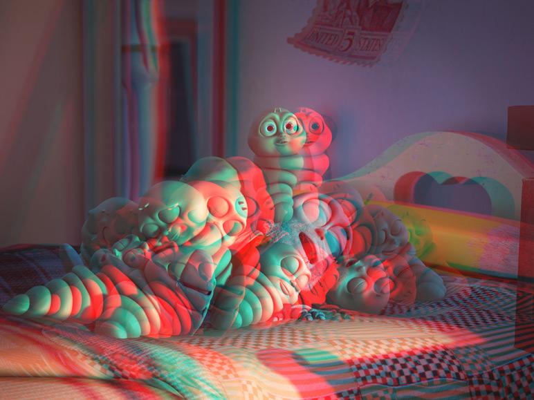 3D Effect in Flim - 3D effect